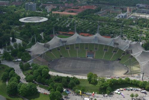 FCB Spielstätte Olympiastadion von 1972 - 2005